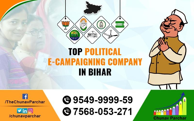 Top Political E-campaigning Company In Bihar