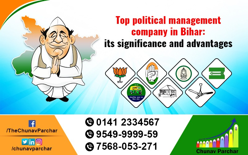 Top political management company in Bihar