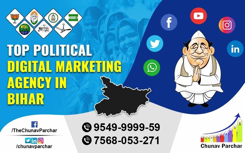 Top Political Digital Marketing Agency In Bihar