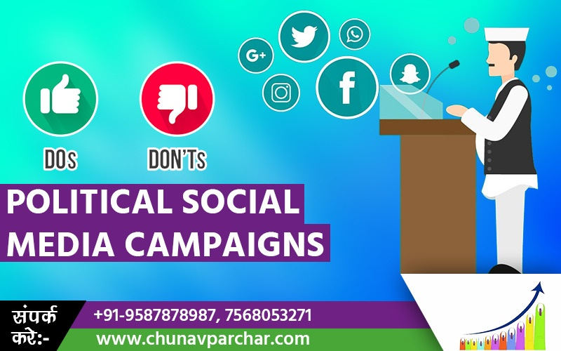 Political Social Media Campaigns: Do's and Don'ts